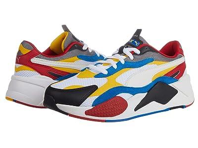 PUMA RS-X3 Puzzle (Puma White/Spectra Yellow/Puma Black) Men
