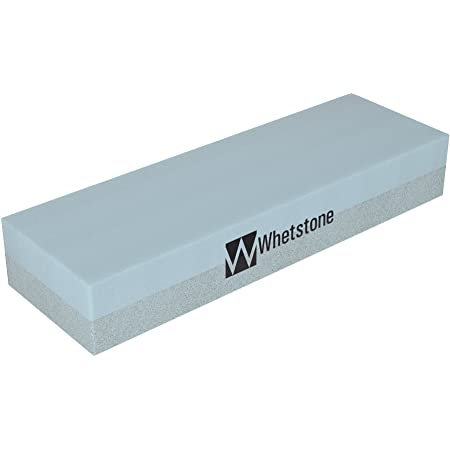 Whetstone Cutlery 20-10960 Knife Sharpening Stone-Dual Sided 400/1000 Grit Water Stone Sharpener and Polishing Tool