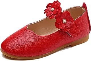 Filles Mary Jane Appartements léger Respirant Semelle Souple Fleur Princesse Chaussures Enfants école Danse Performance Ch...