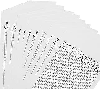 M4MUSIC 30 Note DIY Music Box Blank 10 Paper Strip for DIY Handcrank Music Box Movement