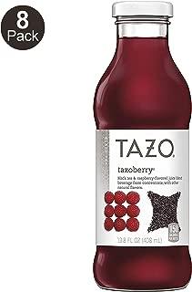 Tazo Tazoberry Iced Tea, 13.8 Ounce Glass Bottles, 8 Count