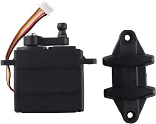 1:10 1/10 9125 RC Trucks Car Spare Parts Replacement Accessories Steering Servo 5 Wires Servo 25-ZJ04 for High Speed 9125 RC Cars S920 RC Trucks Laegendary RC Parts