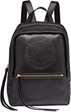 DKNY Women's Black Tilly Circa Logo Backpack