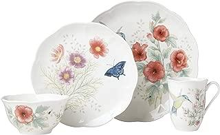 Lenox 882265 Butterfly Meadow Flutter Hummingbird 4 Piece Place Setting