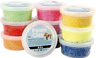 comprar comparacion Foam Clay, surtido de colores, básico, 10x35gr