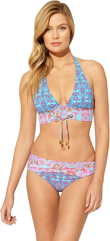 Bleu Rod Beattie Women's St. Tropez Multi Lace Up Halter Bikini