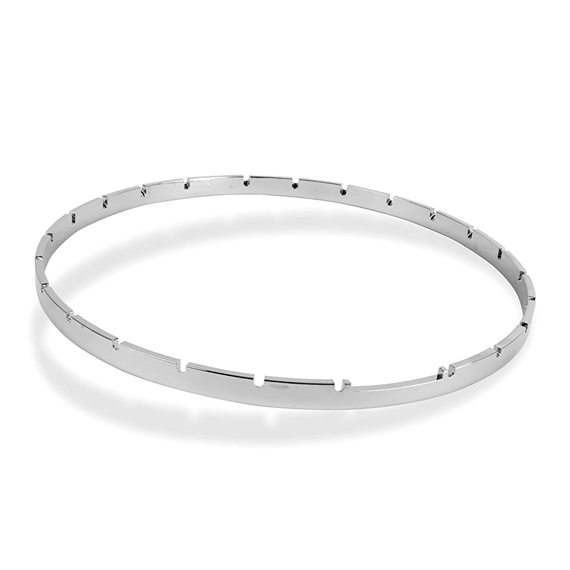 Five-Star Notched Banjo Tension Hoop, Nickel-Plated Brass, 11