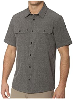 ZeroXposur Stretch Active SS Button Down Shirt