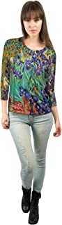 Yizzam - Van Gogh - Vincent Van Gogh - IRI……- New Ladies Womens 3/4 Sleeve