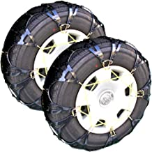 タイヤチェーン 非金属 ゴム製 ジャッキアップ不要 小中径タイプ スノーチェーン 熱可塑性ポリウレタン樹脂 ゴム製 スパイク付 (90)