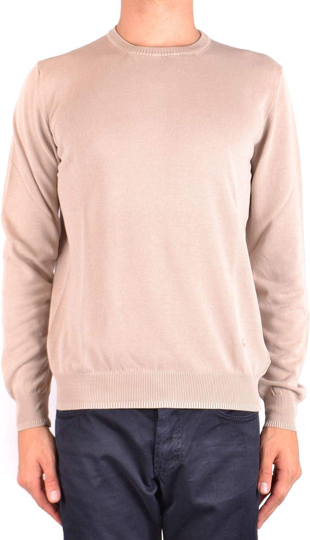 Fay Herren MCBI35368 Beige Baumwolle Sweatshirt