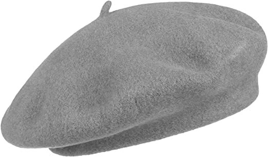 Seeberger Baske bronze Baskenmütze Wolle Franzosenmütze Wollmütze Beret Baret
