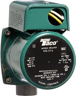 Taco 006-ST4 1/40 HP 115V Stainless Steel Circulator Pump