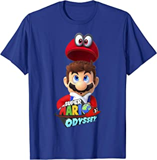 Odyssey Game Logo Cappy Mario Graphic T-Shirt