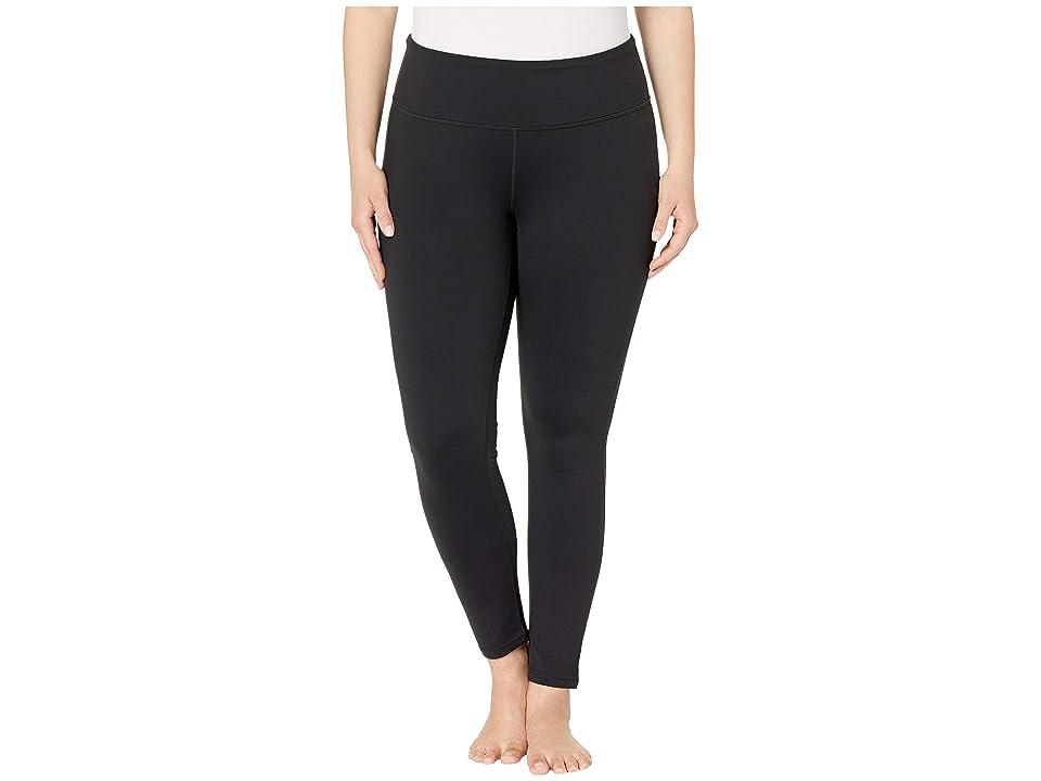 Prana Plus Size Transform Leggings (Black) Women