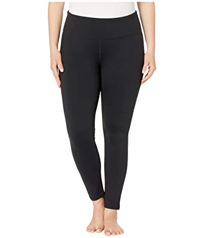 Prana Plus Size Transform Leggings (Black) Women