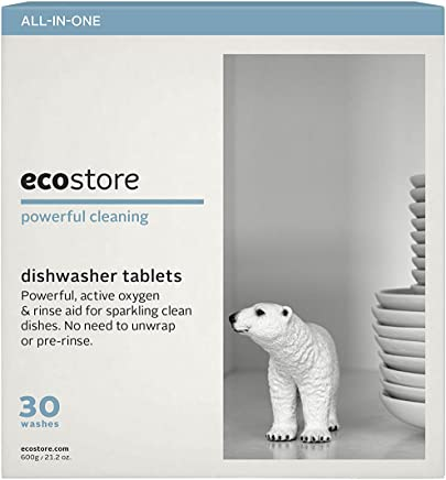 Ecostore Fragrance Free Auto Dishwasher Tablets, 30 count