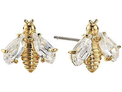 Swarovski Eternal Flower Bee Pierced Earrings (Light Multi) Earring