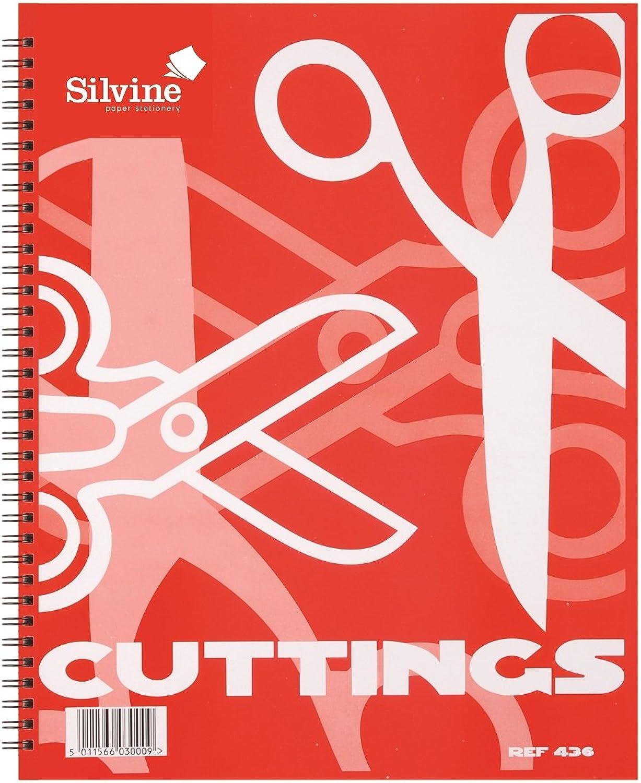 Set Set Set OF 12 - Silvine Scrapbook Stecklinge Spiral - 317 x 250 mm (436) B00KG7CG5O | Verkauf  | Modern  | Qualitätsprodukte  0b6456