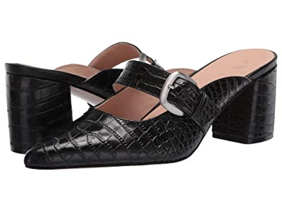 Naturalizer 27 Edit Maizey (Black Croco Print Leather) Women