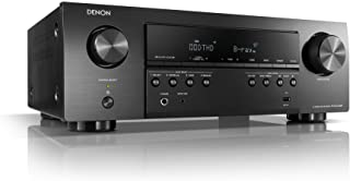 Denon AVR-S540BT Receiver, 5.2 channel, 4K Ultra HD Audio and Video, Home Theater System, built-in Bluetooth and USB port,...