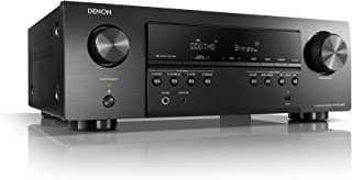 Denon AVR-S540BT Receiver, 5.2 channel, 4K Ultra HD Audio and Video, Home Theater System, built-in Bluetooth and USB port, Compatible with HEOS Link for Wireless Music Streaming