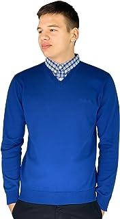 Pierre Cardin Pull en tricot avec col en V pour homme