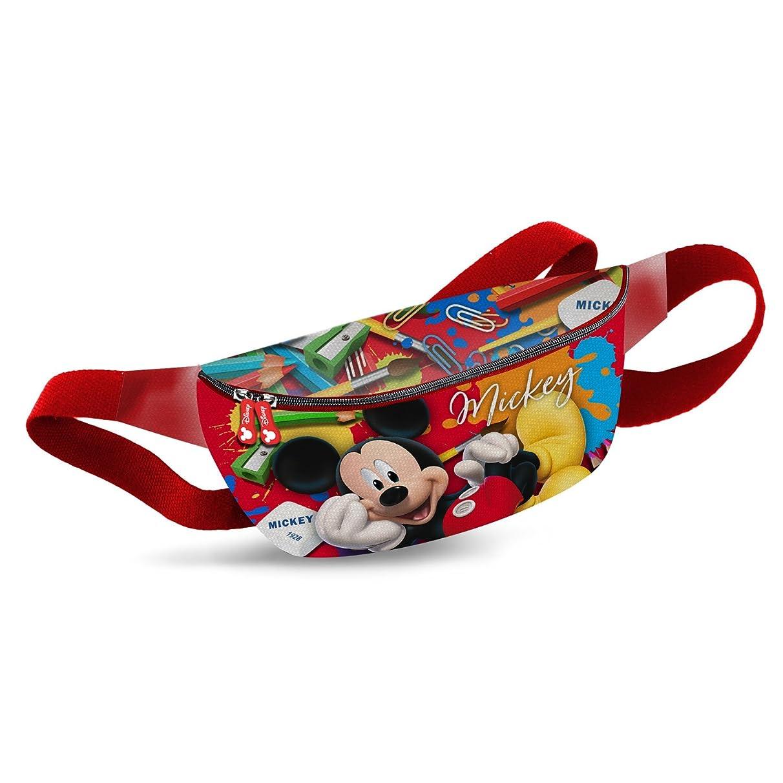 Karactermania Mickey Mouse Crayons-Sac Banane Sport Waist Pack, 30 cm, Red