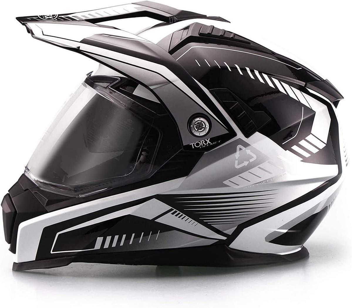 Jaune Taille XS TORX Casque Tourer Moto DUNDEE V