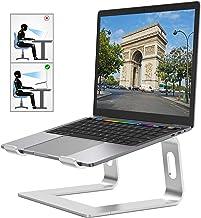 Laptopstativ: demonterbart med ventilation, bärbart notebookstativ, avtagbar aluminiumhållare, kompatibel med bärbar dator...