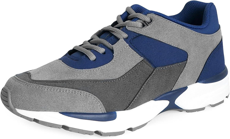 MNX15 Women's Elevator shoes Height Increase 2.4  ACE Navy Wedge Sneakers High Heel Sneakers