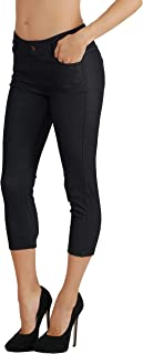 Fit Division Women's Jean Look Cotton Blend Jeggings...