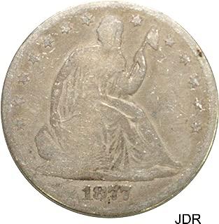 1877 P Seated Liberty Half Dollar Very Good