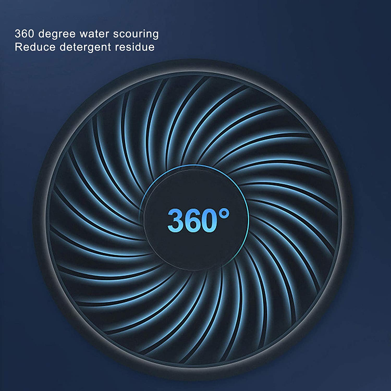 Portable 360 Degree Ultrasonic Washing Machine USB Powered Small Clothes Washer