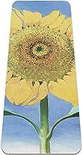 Yoga Mat - flower new mexico art - Extra dikke antislip oefening & fitness mat voor alle soorten yoga, pilates & vloertrai...