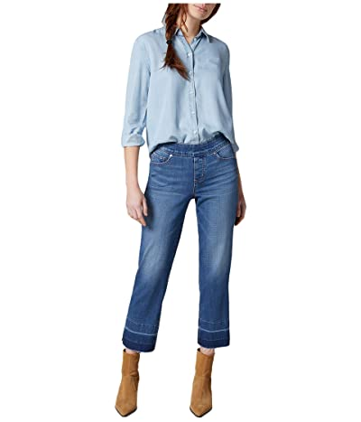 Jag Jeans Lewis Pull-On Straight Leg Jeans with Released Hem (Gramercy) Women
