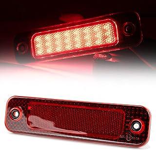LED Cable: 3000mm HELLA 2DA 343 106-207 Luz de freno adicional 12V Cant.: 30 montaje exterior//pegado Color de tulipa: rojo Lado mont.: posterior