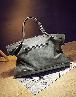 Motorcycle Bag, Female Bag Retro Rivet Bag Portable handbagbig bagtideshouldershoulder Bag Tide bagfemale