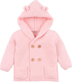 Fairy Baby Baby Boy Girl Knit Cardigan Sweater Jacket Cartoon Hoodies Long Sleeve Coat