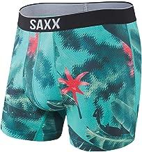 Saxx Underwear Men's Boxer Briefs – Volt Boxer Briefs with Built-in Ballpark Pouch Support – Workout Underwear for Men