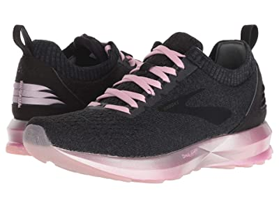 Brooks Levitate 2 (Black/Grey/Rose) Women