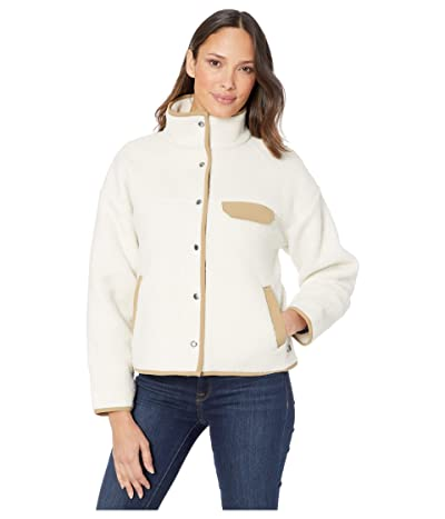 The North Face Cragmont Fleece Jacket (Vintage White/Kelp Tan) Women