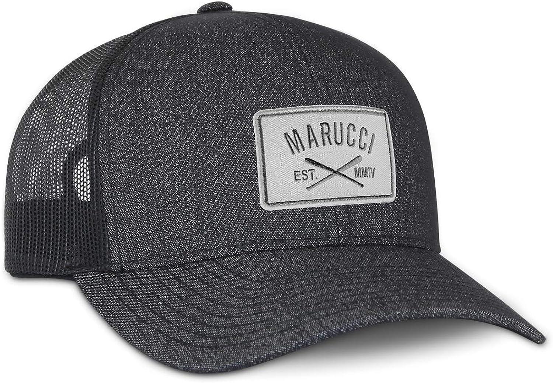 Marucci Mens Marucci Sports, MAHTTRPCS-BHBK W-A, Cross Patch Snapback Hat MAHTTRPCS-BHBK W-A, Black White, One Size Fits Most