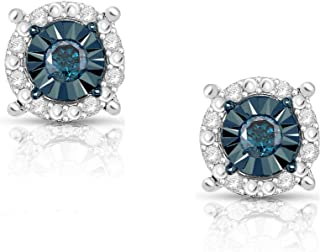 Best diamond blue earrings Reviews