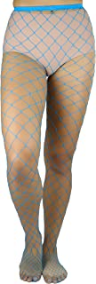 ToBeInStyle Women's Diamond Net Spandex Pantyhose