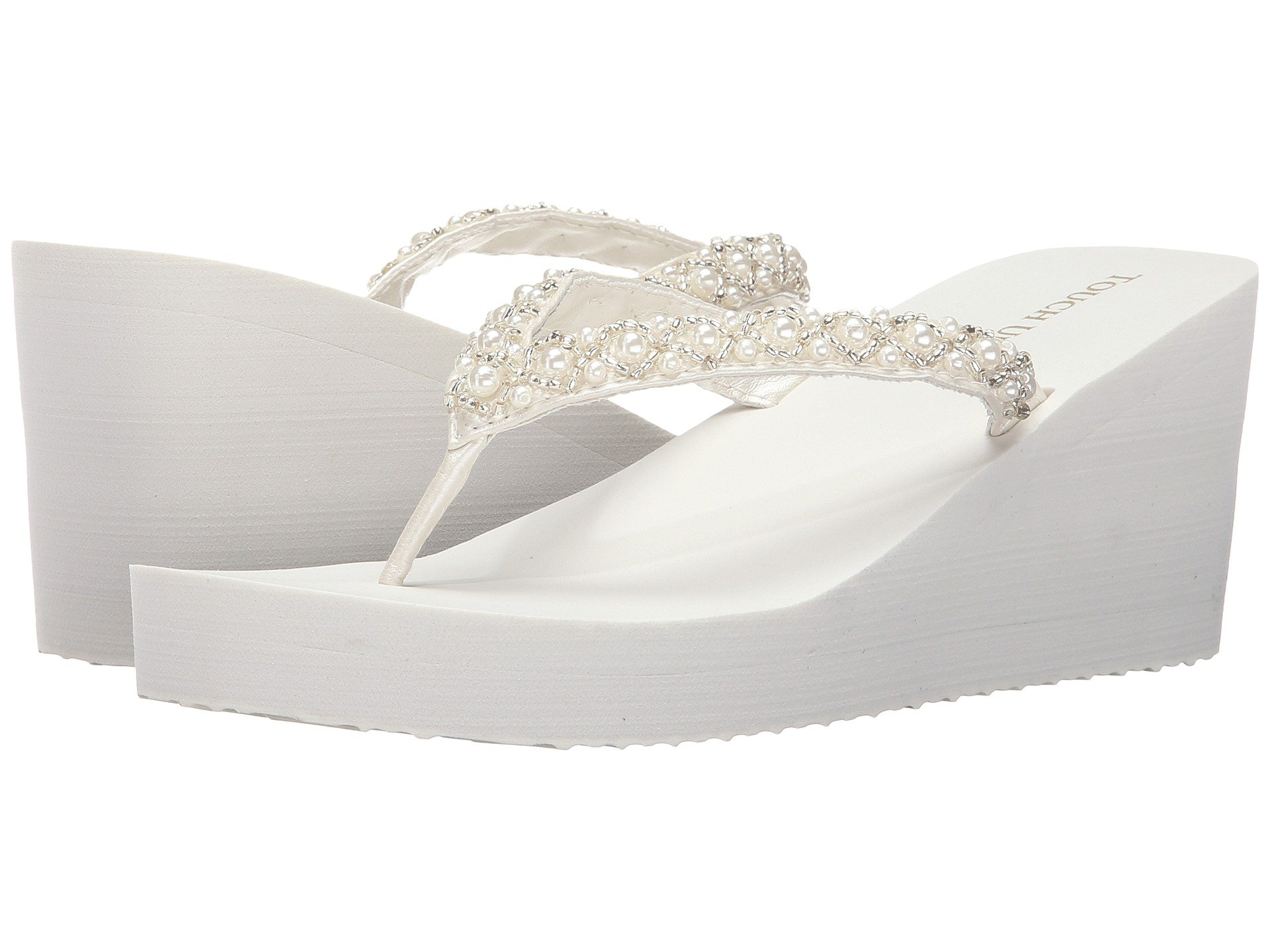 White Wedges, Shoes, White | Shipped Free at Zappos