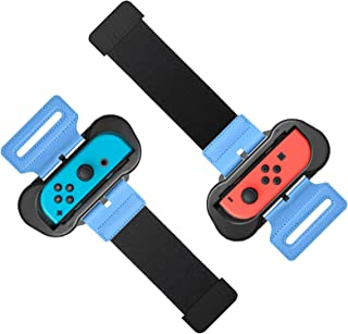 Wrist Bands for Just Dance 2020 2019 for Nintendo Switch Controller Game, Adjustable Elastic Strap for Joy-Cons Controller...