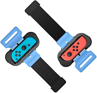 Wrist Bands for Just Dance 2020 2019 for Nintendo Switch Controller Game, Adjustable Elastic Strap for Joy-Cons Controlle...