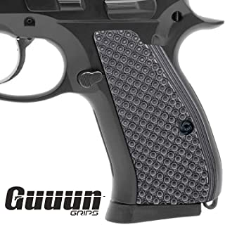 Guuun CZ 75 Compact Grips OPS Golf Dimple Texture Thin CZ P-01 G10 Grips