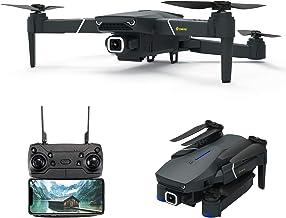 EACHINE E520, Drone con Camara 4k WiFi 4K para Adultos Niños Drone FPV HD 5.8 GHz, WiFi App, 250m FPV Distancia, Selfie Drone con 4K, Drone Profesionales, Gran Angular Drone. …